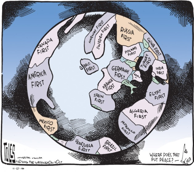 Tom Toles Editorial Cartoon