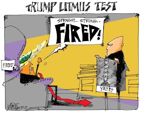 tRUMP LITMUS TEST