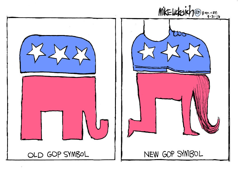 New GOP Symbol | Politicians Are Poody Heads